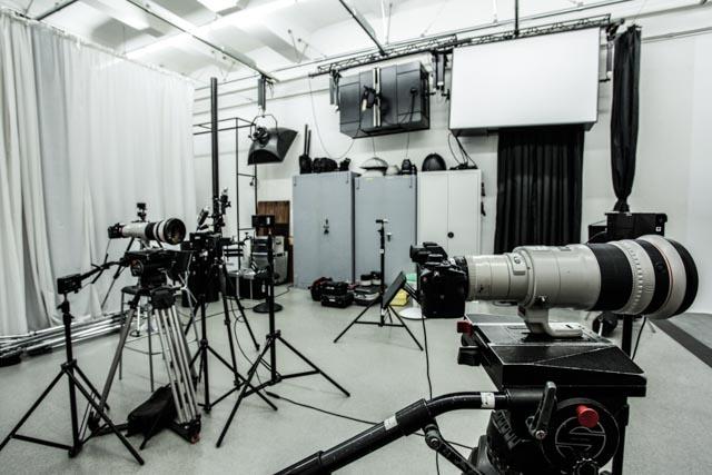 Gut zu wissen, dass die Technik in unserem Studio 24 Stunden überwacht wird.